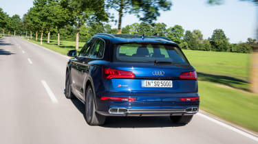 Audi SQ5 TFSI - rear three quarter