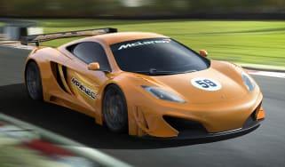 McLaren MP4-12C GT3 racing car