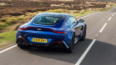 Aston Martin Vantage UK - rear quarterr