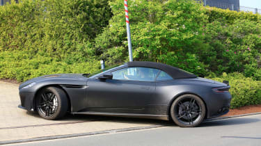 Aston Martin DBS Volante - front