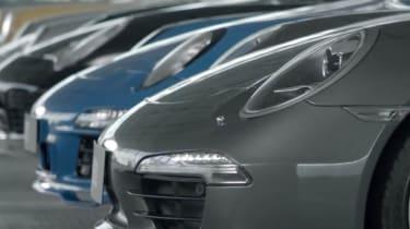 Porsche 911 50th birthday video