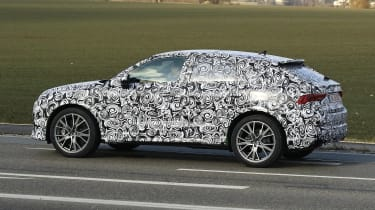 Audi RS Q3 Sportback spy - profile