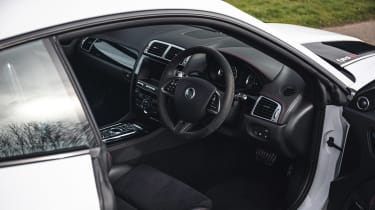 Silverstone Auctions - Jag XKR-S GT interior