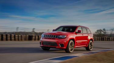 Jeep Grand Cherokee Trackhawk - track