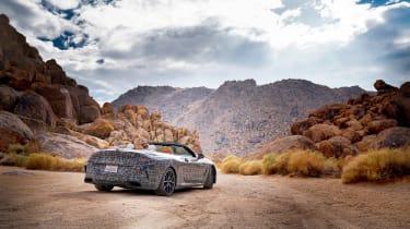 BMW 8-series cabrio test - rear quarter