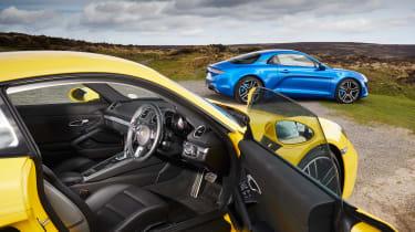 evo Supertest A110 vs rivals - 718 interior