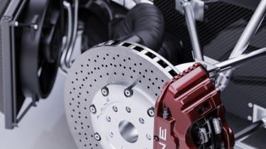 Alpine A110 GTA concept – brakes