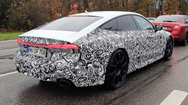 Audi RS7 body-on spy - rear