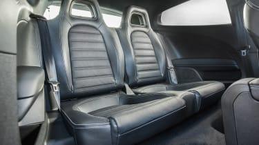 Volkswagen Scirocco R - rear seats