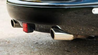 Mazda MX-5 Rocketeer exhausts