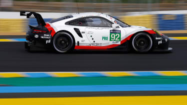 Le Mans test day 2017 - 911 RSR