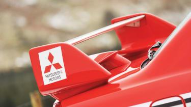 Mitsubishi Evo VI Tommi Makinen Edition spoiler
