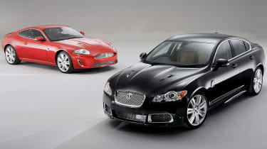 Jaguar XFR and XKR | Evo