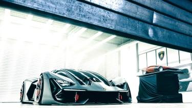 Lamborghini Terzo Millennio - garage