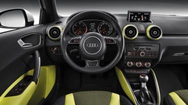 Audi A1 Sportback five-door interior dashboard