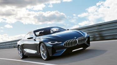 BMW 8-series concept - front tracking