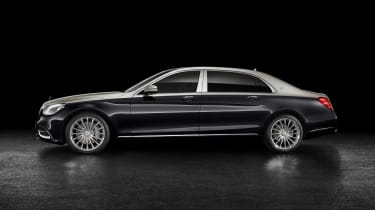 Mercedes-Maybach S 650 Saloon - profile