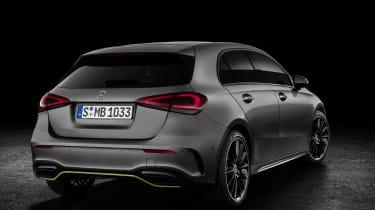 Mercedes-Benz A-class rear three quarter studio