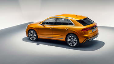 Audi Q8 TDI - rear