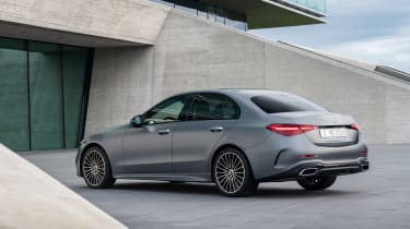 2021 Mercedes C-class revealed - rear static