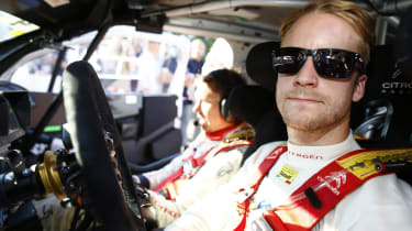 Mads Ostberg Citroen WRC