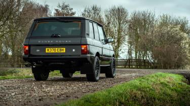Bishops Heritage Range Rover – rear quarter static
