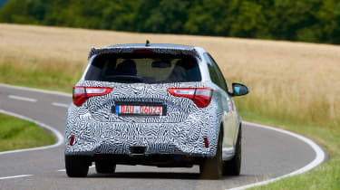 Toyota Yaris GRMN - rear cornering