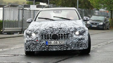 Mercedes-AMG C63 2021 spy - nose