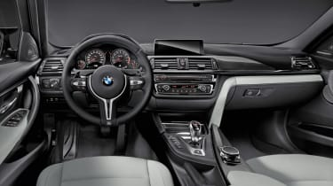 New BMW M3 interior