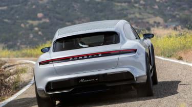 Porsche Mission E Cross Turismo - tail
