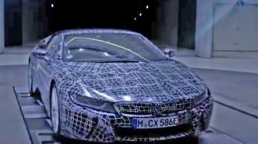 BMW i8 Spyder - teaser front