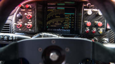 Anatomy of a WRC car - dials