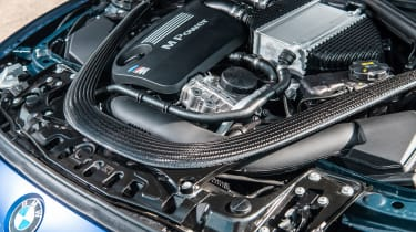 2018 BMW M3 CS - engine
