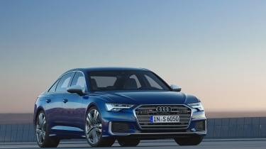 Audi S6 saloon - nose
