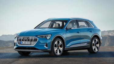 Audi e-Tron - static