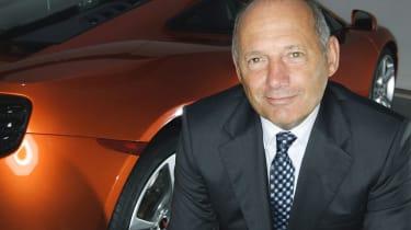 Ron Dennis from McLaren Automotive