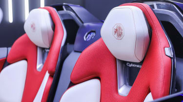 MG Cyberster Roadster concept – seats