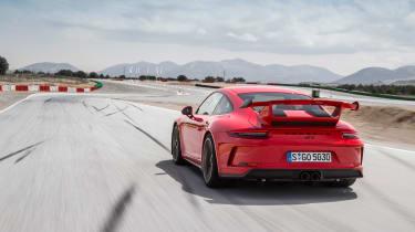 Porsche 911 GT3 manual - rear