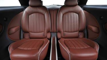 Mini Paceman Cooper S individual rear seats