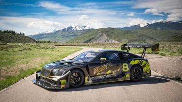 Bentley Continental GT3 Pikes Peak – on loc front quarter