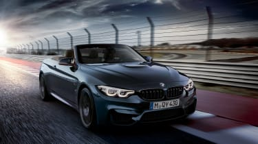 BMW M4 Convertible Edition - front quarter