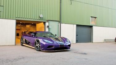 Koenigsegg Agera R at the factory