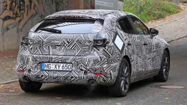 2019 Mazda 3 spied - rear