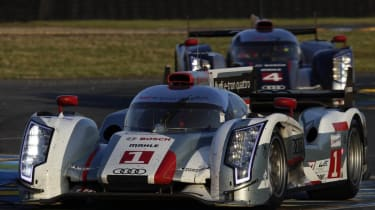 Audi R18 e-tron 2012 Le Mans 24 hour race winner