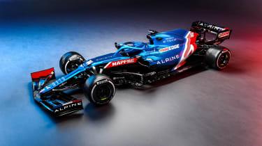 2021 Formula 1 racers – Alpine