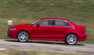 2013 Audi A3 Saloon 1.8 TFSI red