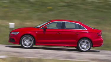 2013 Audi A3 Saloon 1.8 TFSI red