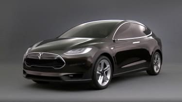 Tesla Model X unveiled