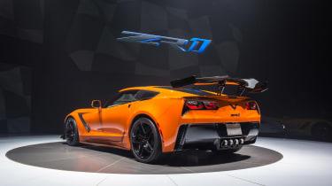 Corvette ZR1 - rear quarter orange