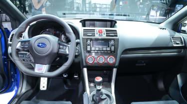 Subaru WRX STI launch edition